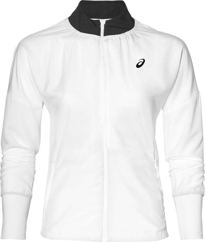 Олимпийка женская Asics Jacket, цвет: белый. 154426-0014. Размер XS (42) пижамы oodji пижама