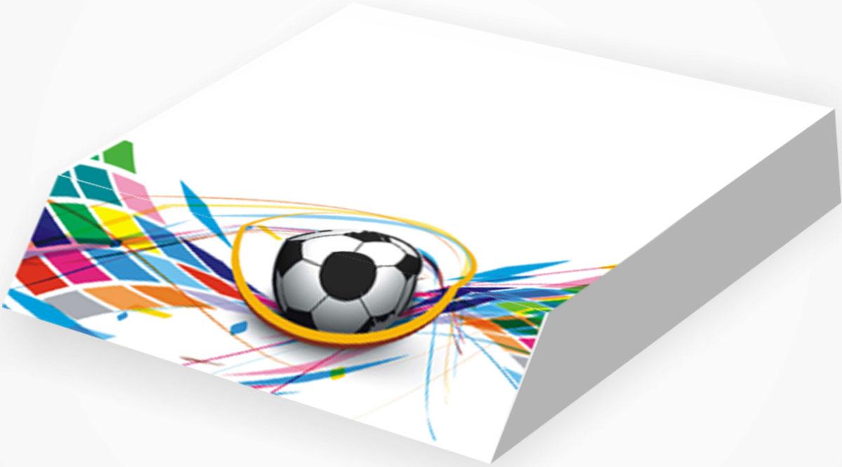 Фолиант Блок для записей Футбол 9 х 11 см 300 листов Фолиант