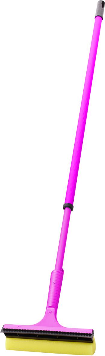 Стеклоочиститель Svip, телескопический, цвет: аметист, длина 150 смSV3077АМ-40PSУдобный и практичный стеклоочиститель Svipпредназначен для качественной и удобной мойка окон. Стеклоочистительс одной стороны оснащен поролоновой губкой для тщательного отмывания, а с другой - резиновой кромкой, с помощью которой легко собрать всю влагу, оставив стекло зеркально чистым и без разводов.В комплект входит телескопический черенок, раскладывающийся до 150 см.