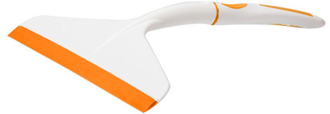 Водосгон Svip Софтэль, цвет: белый, оранжевый, ширина 17 см
