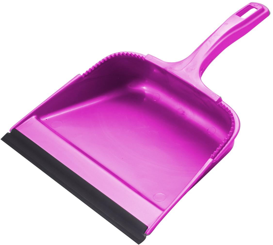Совок Svip София, с кромкой, цвет: аметистSV3101АМПрочный удобный совок большого объема незаменим во время домашней уборки. Имеет удобную эргономическую ручку – совок можно крепить к черенку или размещать на крючке. Края совка оснащены зубчиками для чистки щетки после ее использования. Совок имеет резиновую кромку, благодаря которой удобнее собирать мусор.