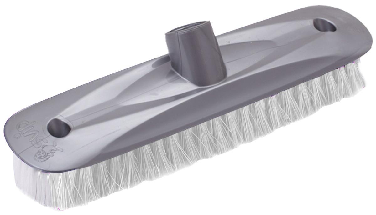 Щетка для пола Svip Глория шробер, цвет: серебряныйSV3126СБЩетка современной формы, предназначенная для оттирания пола. Щетина качественная и не деформируется даже при высоких температурах воды.
