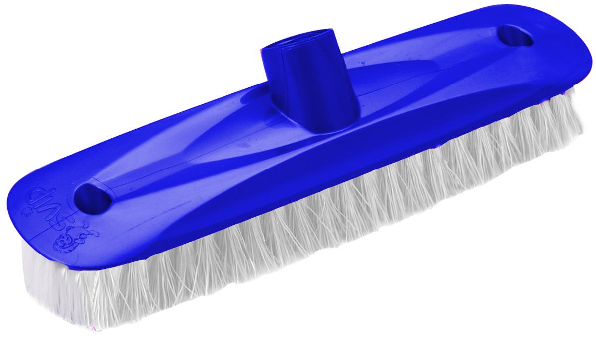 Щетка для пола Svip Глория шробер, цвет: синийSV3126СНЩетка современной формы предназначенная для оттирания пола. Щетина качественная и не деформируется даже при высоких температурах воды.