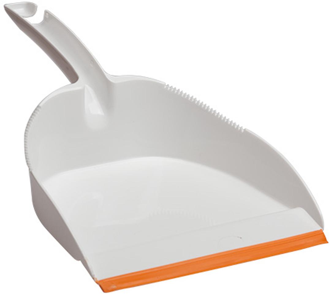 Совок Svip Софтэль, цвет: белый, оранжевый комплект для уборки svip арианна цвет фиолетовый