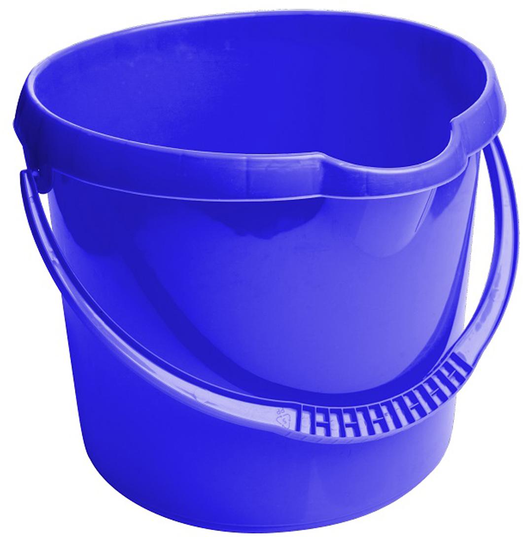 Ведро Svip, цвет: синий, 12 лSV3919СНКруглое ведро изготовлено из прочного материала. Удобная форма и эргономическая ручка обеспечат комфорт применения. В верхней части ведра находится удобный выступ для выливания воды, а в нижней части отверстие прихвата.