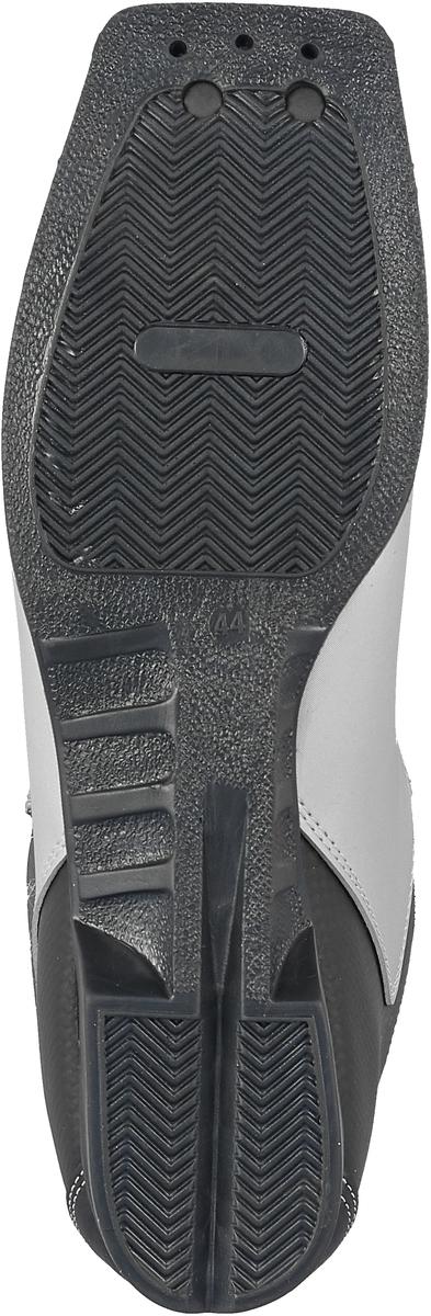 Ботинки лыжные Marax, цвет:  серебристый, черный, красный.  М350.  Размер 44 Marax