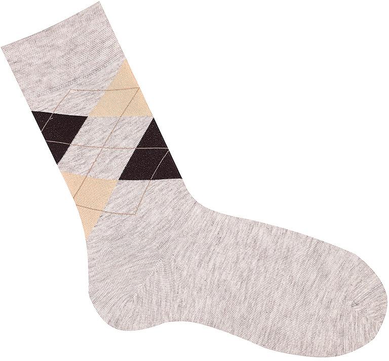Носки мужские Akos, цвет: коричневый. C10 A84 17. Размер 42/44C10 A84 17