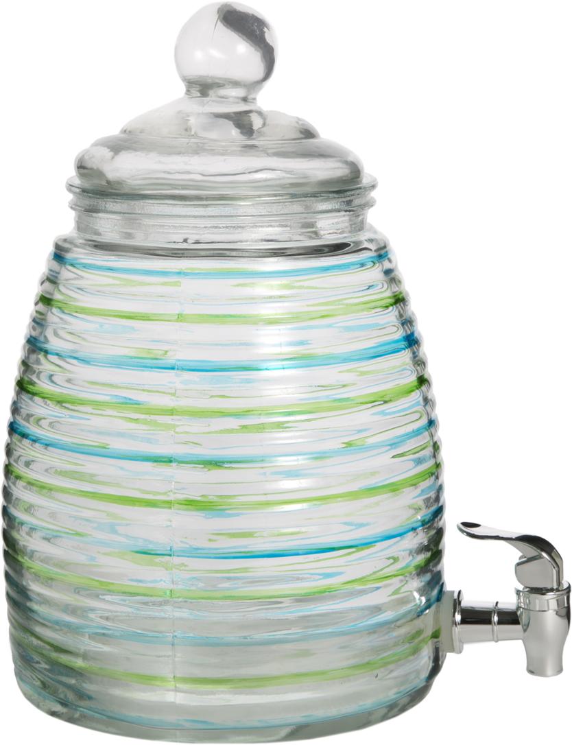 Емкость для напитков Magic Home, 5 л. 4258142581Емкость для напитков Magic Home выполнена из прозрачного стекла и снабжена крышкой.Предназначена для любых напитков.Размер 19,5 х 31 х 19,5 см. Имеется кран для слива. Не рекомендуется мыть в посудомоечной машине.