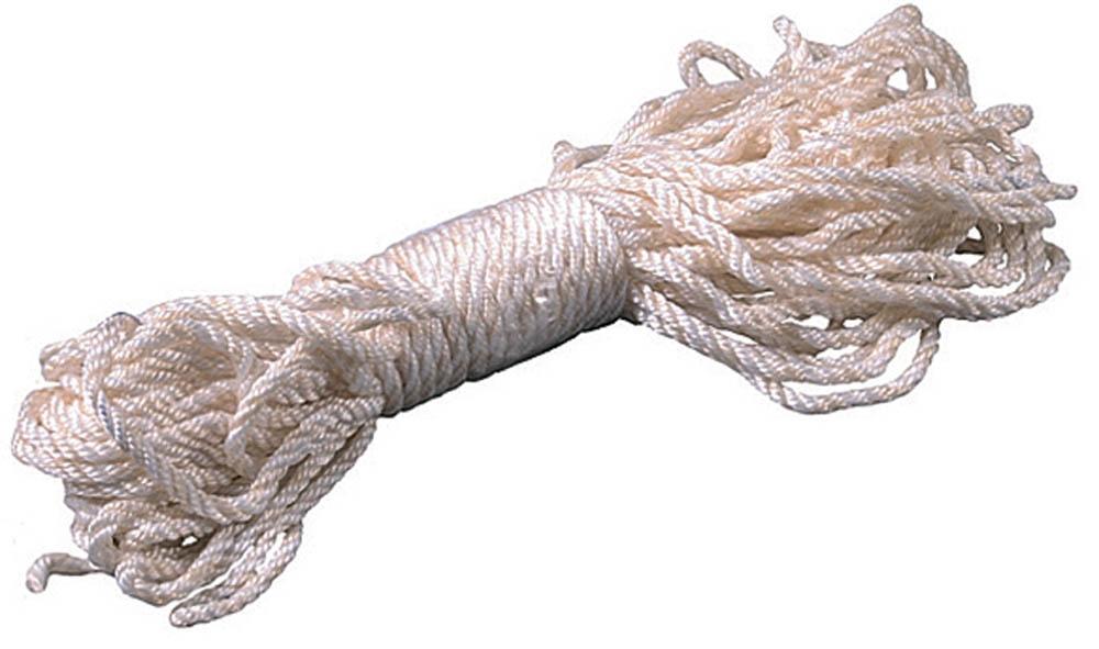 Веревка капроновая ЗУБР, диаметр 3,1 мм, 20 м, 150 кгс, 5 ктекс веревка упак пеньковая d1 5 мм 40 м