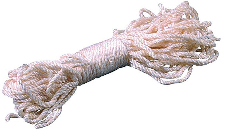 Веревка капроновая ЗУБР, диаметр 4,0 мм, 20 м, 180 кгс, 6,5 ктекс веревка упак пеньковая d1 5 мм 40 м