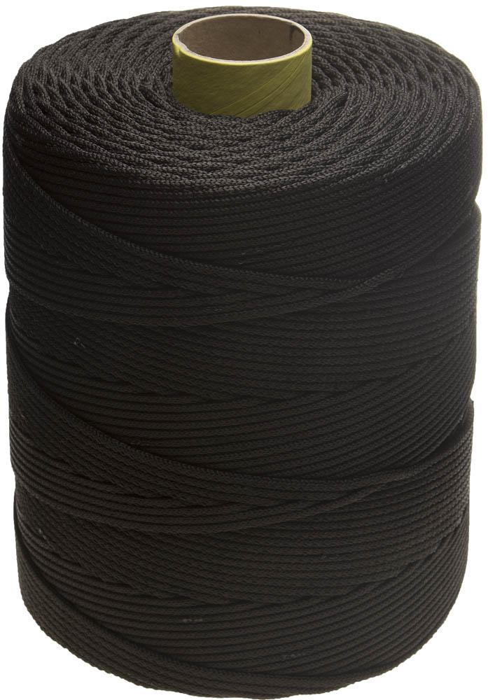 Шнур полипропиленовый Stayer Standard, хозяйственно-бытовой, без сердечника, цвет: черный, диаметр 5 мм, катушка 700 м шнур без сердечника 5мм 25м пп