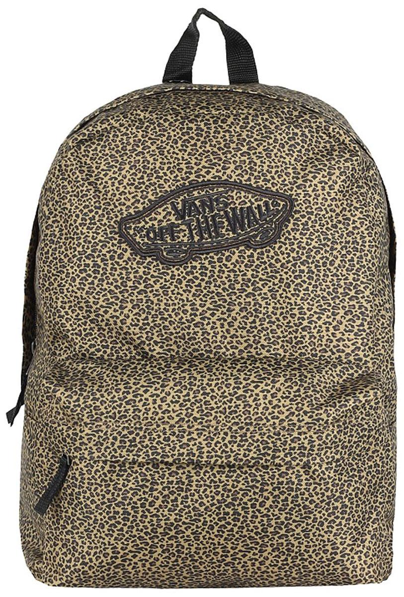 Рюкзак женский Vans WM Realm Backpack, цвет: леопардовый, 22 л. V00NZ0QIJ рюкзак vans realm backpack 2014