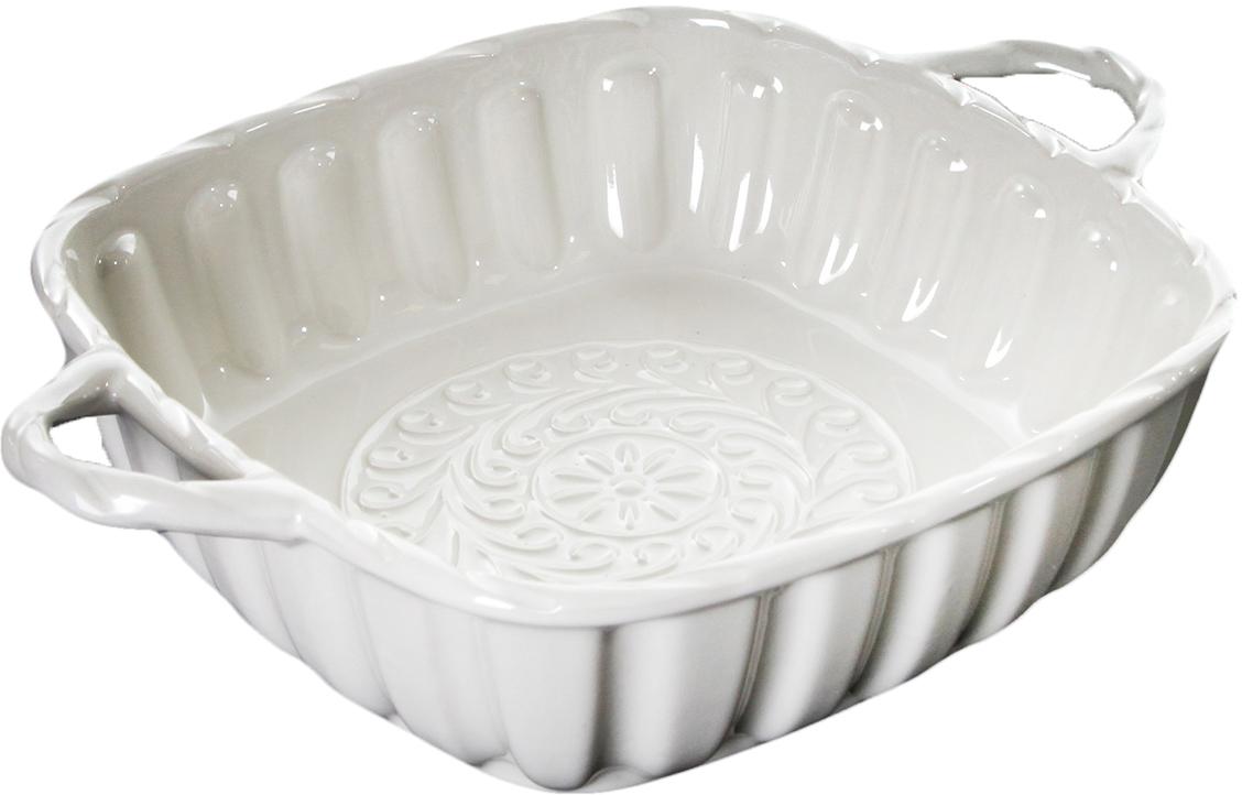 Форма для выпечки Доляна Квадрат, Массимо, цвет: белый, 33 х 25,5 х 7,5 см2803730_белыйОт качества посуды зависит не только вкус еды, но и здоровье человека. Форма для выпечки— товар, соответствующий российским стандартам качества. Любой хозяйке будет приятно держать его в руках. С нашей посудой и кухонной утварью приготовление еды и сервировка стола превратятся в настоящий праздник.