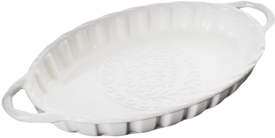 Форма для выпечки Доляна Овал. Массимо, цвет: белый, 39,5 х 21,2 х 5,3 см2803731_белыйОт качества посуды зависит не только вкус еды, но и здоровье человека. Форма для выпечки— товар, соответствующий российским стандартам качества. Любой хозяйке будет приятно держать его в руках. С нашей посудой и кухонной утварью приготовление еды и сервировка стола превратятся в настоящий праздник.