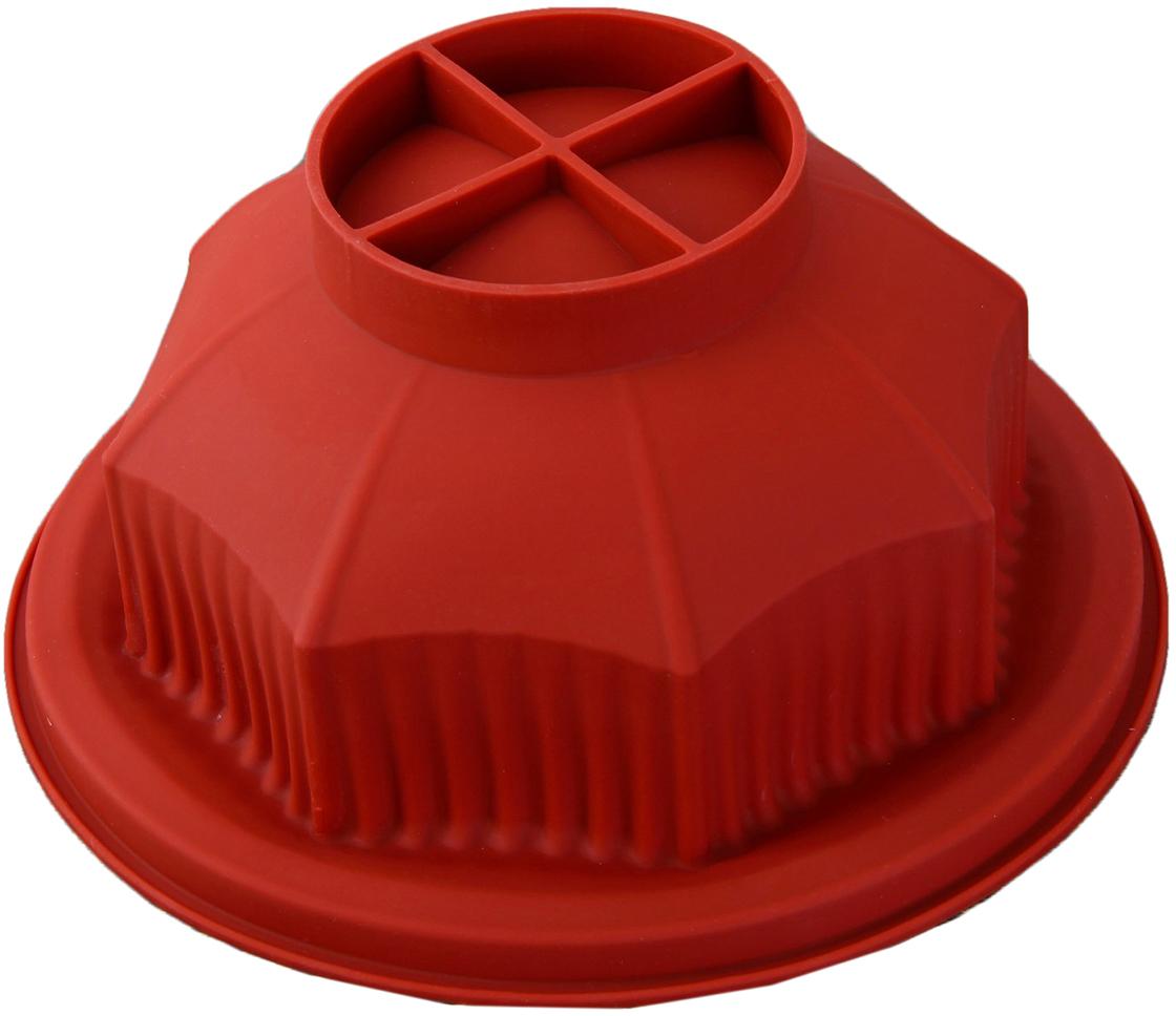 Форма для выпечки 2 в 1 Доляна Трансформер, цвет: коричневый, 29 х 24 х 5 см2854682_коричневыйОт качества посуды зависит не только вкус еды, но и здоровье человека. Форма для выпечки— товар, соответствующий российским стандартам качества. Любой хозяйке будет приятно держать его в руках. С нашей посудой и кухонной утварью приготовление еды и сервировка стола превратятся в настоящий праздник.