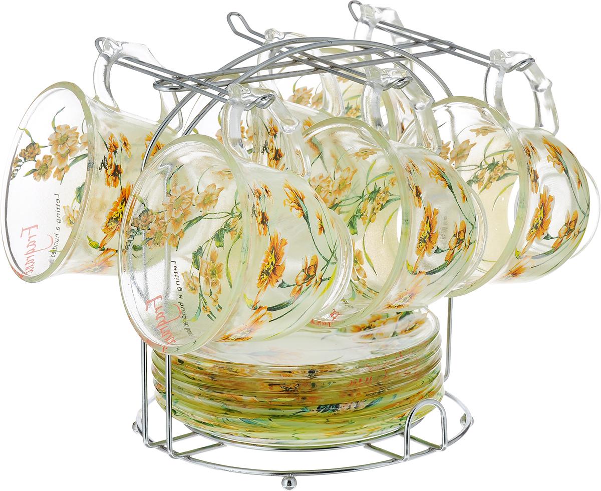 Набор чайный Bekker, цвет: зеленый, 13 предметов. BK-5810BK-5810_зеленый