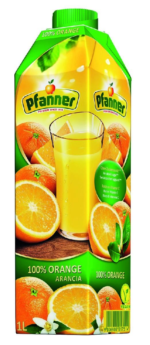 Pfanner Сок апельсин, 1 л поло print bar апельсиновый сок
