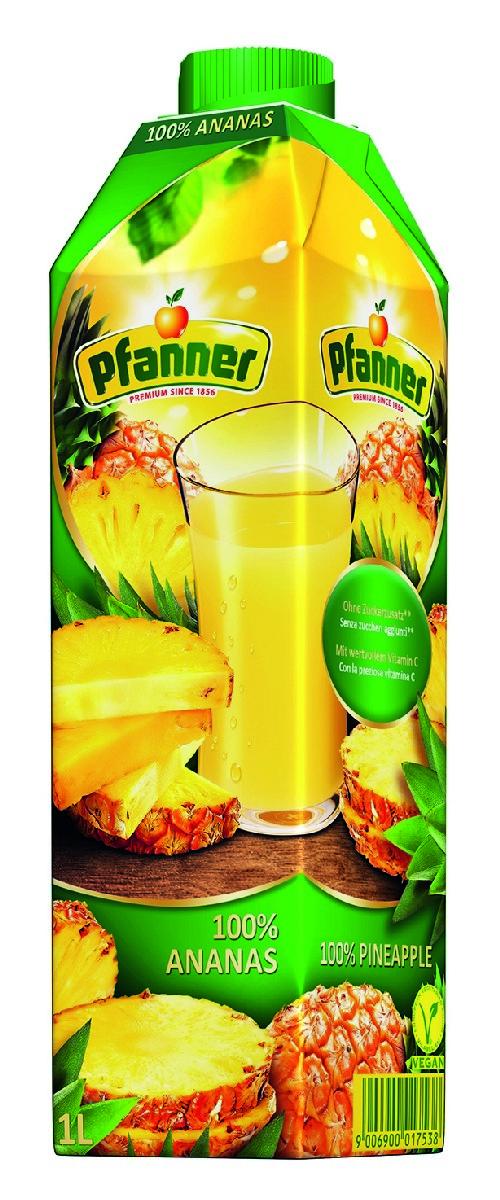 Pfanner Сок ананас, 1 л casa rinaldi рис арборио среднезерный 500 г