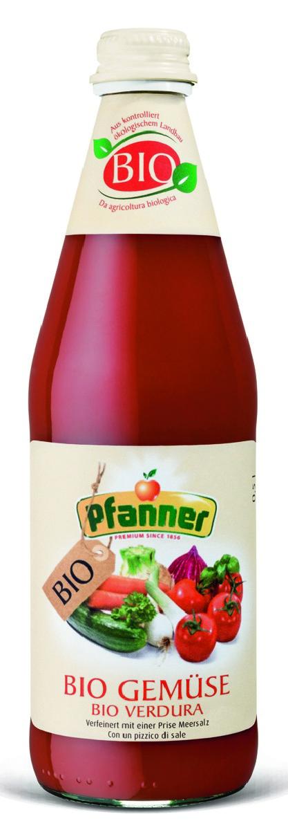 Pfanner Сок овощной БИО, 500 мл pfanner сок розовый грейпфрут 1 л