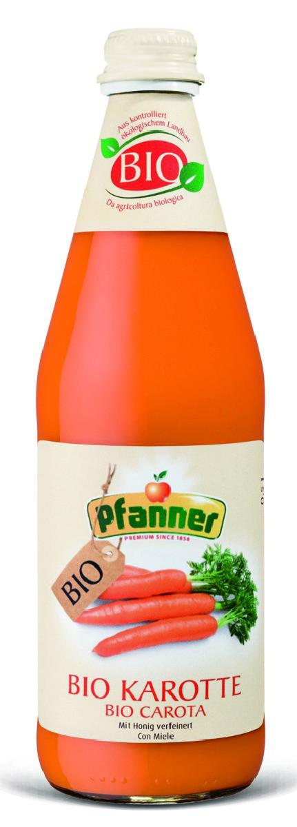 Pfanner Сок морковь БИО, 500 мл pfanner сок розовый грейпфрут 1 л