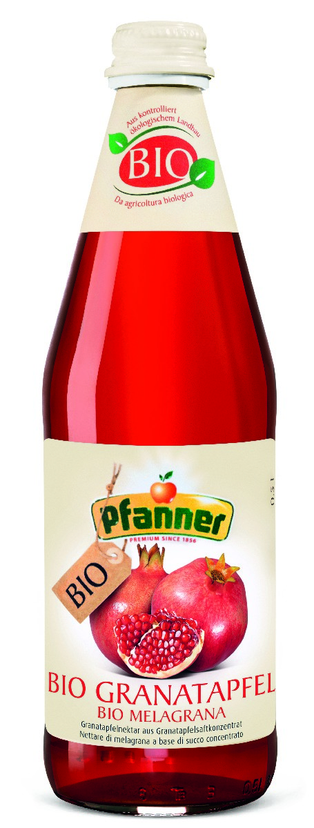 Pfanner Нектар гранат БИО, 500 мл pfanner сок розовый грейпфрут 1 л