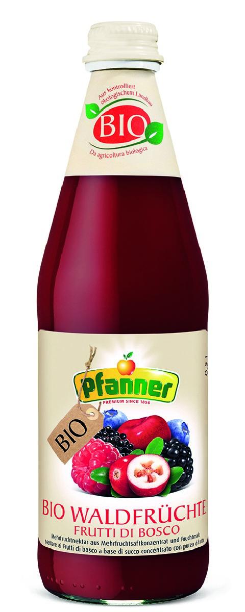 Pfanner Нектар лесная ягода БИО, 500 мл фрутоняня биолакт лесная ягода 2 9% 200 мл