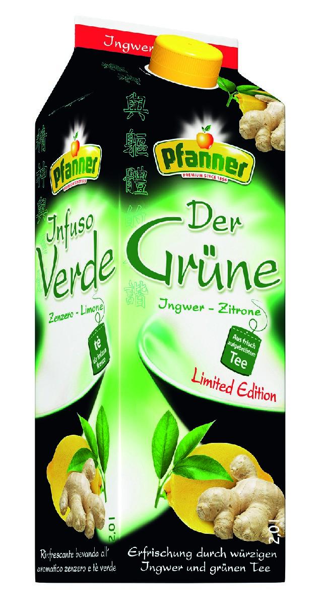 PfannerЧай холодный летний имбирь-лимон, 2 л