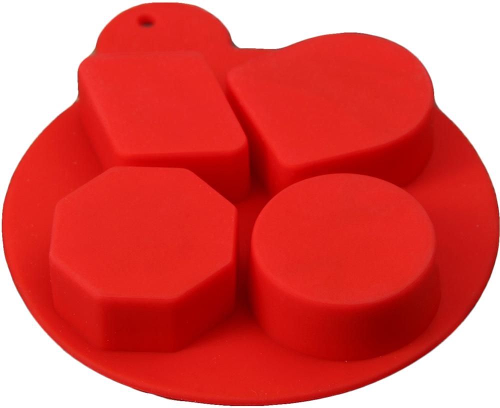 Форма для льда и шоколада Доляна Дольки шоколада Доляна, цвет: красный, 4 ячейки, 8,5 х 1,6 см2854638_красныйОт качества посуды зависит не только вкус еды, но и здоровье человека. Форма— товар, соответствующий российским стандартам качества. Любой хозяйке будет приятно держать его в руках. С нашей посудой и кухонной утварью приготовление еды и сервировка стола превратятся в настоящий праздник.