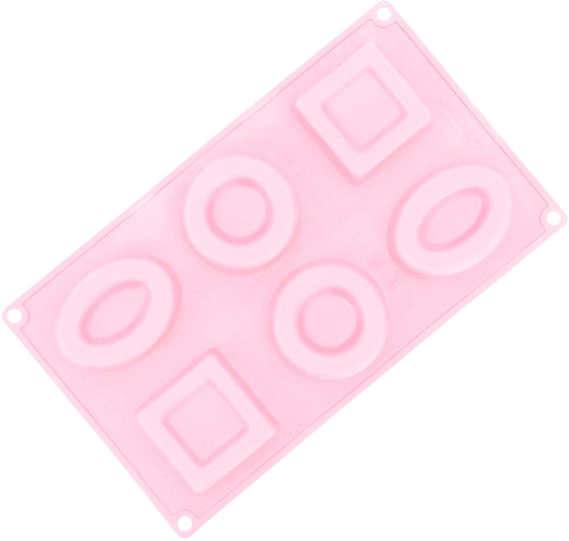 Форма для выпечки Доляна Рамочки, цвет: розовый, 6 ячеек, 30 х 17,5 х 2,5 см2854664_розовыйОт качества посуды зависит не только вкус еды, но и здоровье человека. Форма для выпечки— товар, соответствующий российским стандартам качества. Любой хозяйке будет приятно держать его в руках. С нашей посудой и кухонной утварью приготовление еды и сервировка стола превратятся в настоящий праздник.