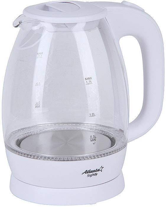 Atlanta ATH-2465, White чайник электрический sonance vp10sub amplifier 230v
