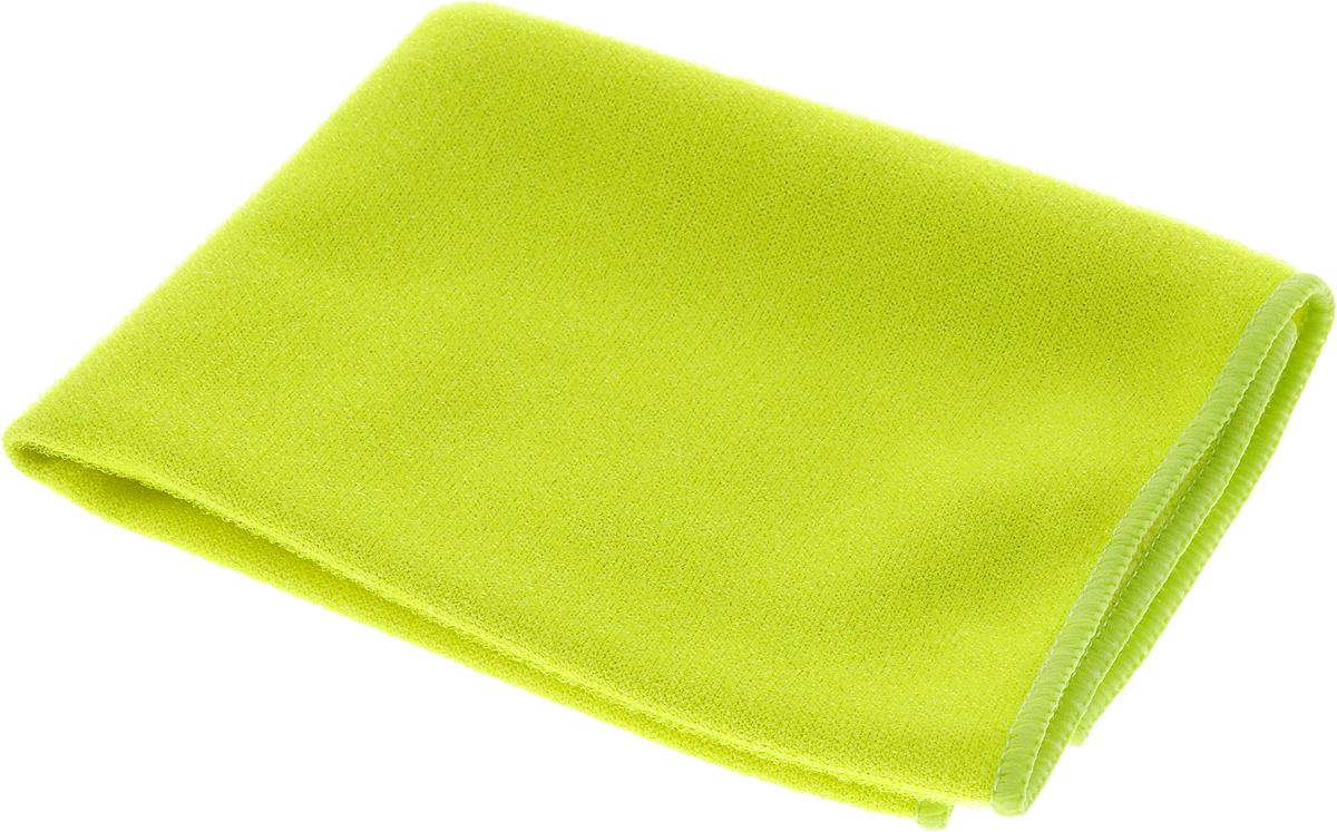 Салфетка из микрофибры Magic Power, с леской, цвет: салатовый, 36 х 38 смMP-508_салатовыйСалфетка из микрофибры Magic Power, с леской, цвет: салатовый, 36 х 38 см