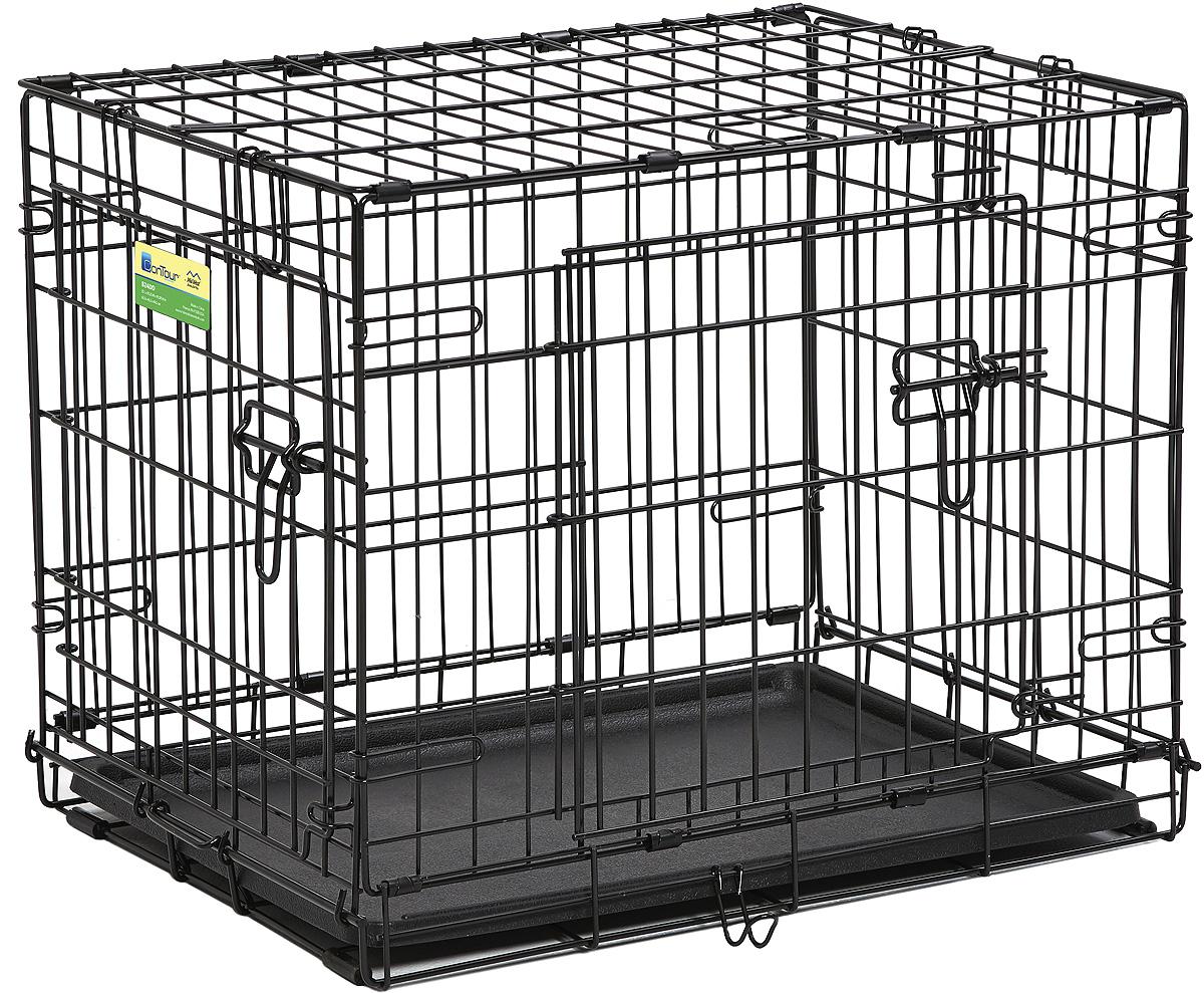 Клетка Midwest Contour, 2 двери, 63 х 45 х 50 см цена