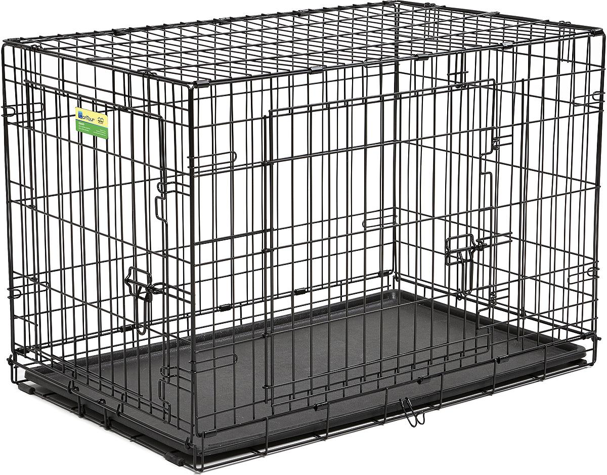 Клетка Midwest  Contour , 2 двери, 91 х 58 х 64 см - Клетки, вольеры, будки