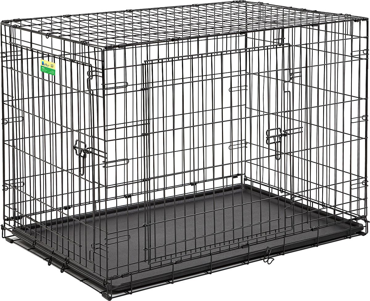Клетка Midwest Contour, 2 двери, 107 х 71 х 79 см цена