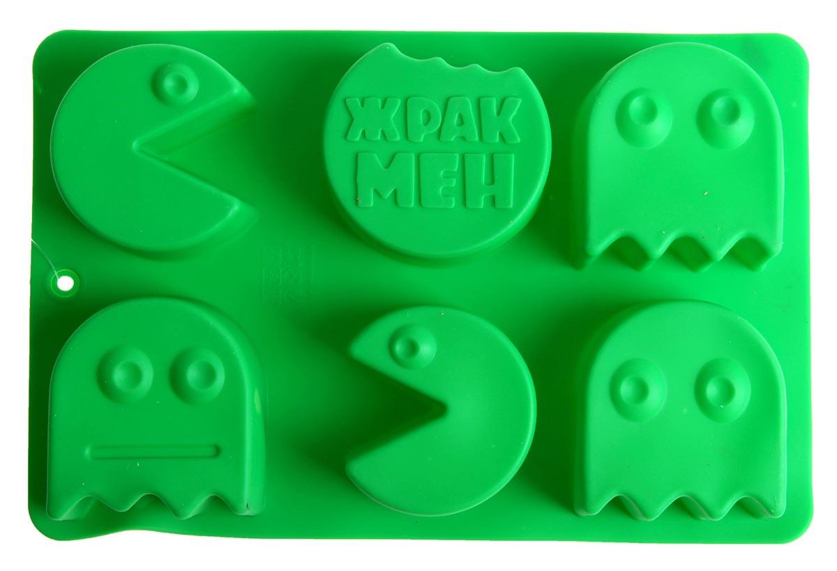 Форма для выпечки Жракмен, силиконовая, прямоугольная, цвет: зеленый, 27 х 17,5 см1032240_зеленыйОт качества посуды зависит не только вкус еды, но и здоровье человека. Форма для выпечки— товар, соответствующий российским стандартам качества. Любой хозяйке будет приятно держать его в руках.