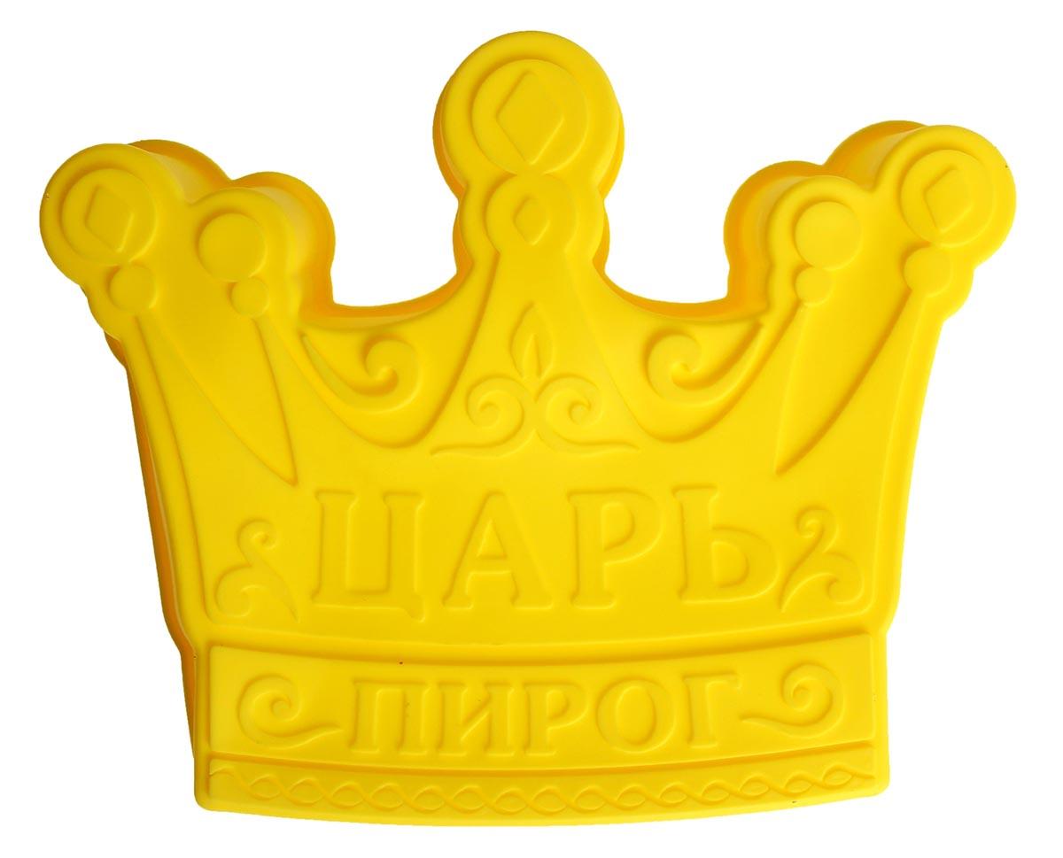 Форма для выпечки Царь пирог, силиконовая, цвет: желтый, 25 х 7 см1032218_желтыйОт качества посуды зависит не только вкус еды, но и здоровье человека. Форма для выпечки — товар, соответствующий российским стандартам качества. Любой хозяйке будет приятно держать его в руках.