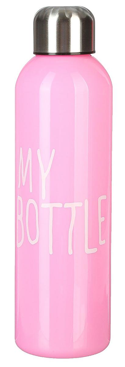 Бутылка My Bottle, цвет: розовый, 500 мл. 24636032463603_розоваяОт качества посуды зависит не только вкус еды, но и здоровье человека. Бутылка - товар, соответствующий российским стандартам качества. Любой хозяйке будет приятно держать его в руках. С данной посудой и кухонной утварью приготовление еды и сервировка стола превратятся в настоящий праздник.