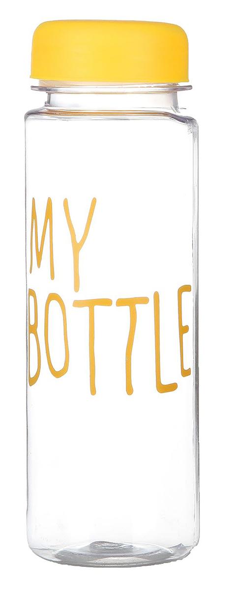 Бутылка My Bottle, цвет: желтый, 500 мл. 24636022463602_желтаяОт качества посуды зависит не только вкус еды, но и здоровье человека. Бутылка - товар, соответствующий российским стандартам качества. Любой хозяйке будет приятно держать его в руках. С данной посудой и кухонной утварью приготовление еды и сервировка стола превратятся в настоящий праздник.