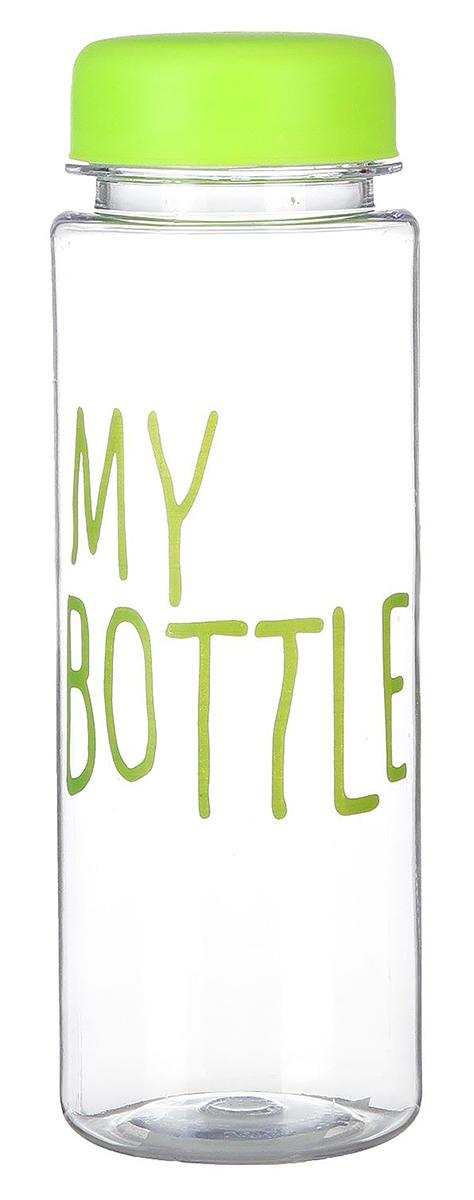 Бутылка My Bottle, цвет: зеленый, 500 мл. 24635972463597_зеленаяОт качества посуды зависит не только вкус еды, но и здоровье человека. Бутылка - товар, соответствующий российским стандартам качества. Любой хозяйке будет приятно держать его в руках. С данной посудой и кухонной утварью приготовление еды и сервировка стола превратятся в настоящий праздник.