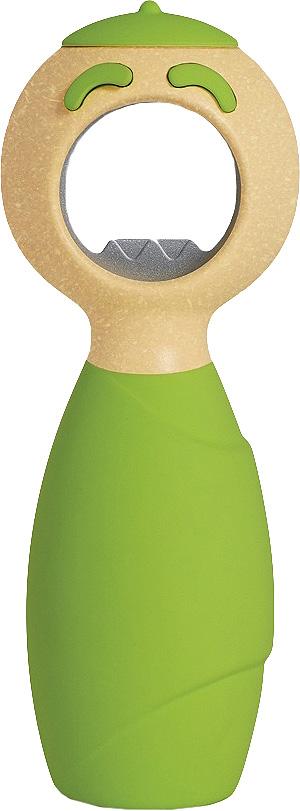 Открывашка для бутылок Boston Squeakie Green15223Аксессуары Boston - это то, что нужно для идеального начала дня и гармоничного оформления интерьера кухни. Кружки, декорированные ручной росписью, оригинальные держатели и подставки для столовых приборов, подносы и наборы для специй, дизайнерские прихватки - в этой коллекции есть то, чего так не зватало вам для завершения оформления кухни.