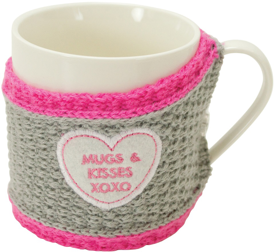 Кружка Boston Sweater mug Mugs & Kisses, 420 мл подставки кухонные boston cook with love black подставка для поваренной книги