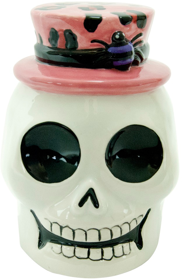 """Оригинальный держатель для губок, мочалок Boston """"Witch Doctor"""" в виде черепа выполнен из керамики. Такой необычный акксесуар оформит ваш интерьер и станет незаменимым предметом для кухни. Высота: 12 смШирина: 9 смДлина: 8,3 см."""