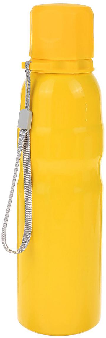 Фляга туристическая, с выемкой и петлей, цвет: желтый, 750 мл2385932_желтыйФляга - модель на все случаи жизни. Станьте обладателем этого полезного предмета и верного спутника во всех походах и поездках.Также она будет стильным аксессуаром и подчеркнет вашу индивидуальность.