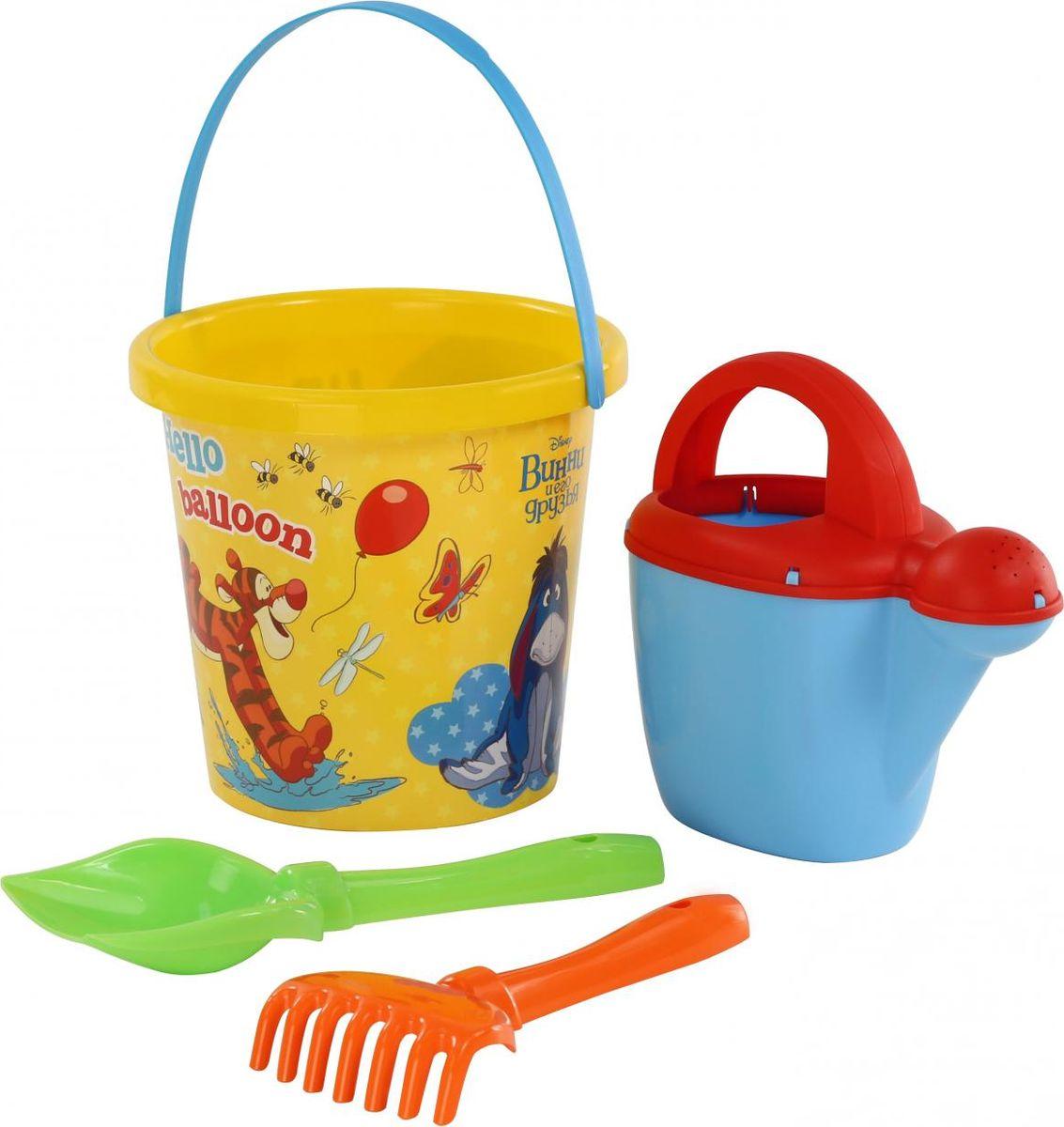 Disney Набор игрушек для песочницы Винни и его друзья №9 hemar набор для песочницы авто ptys 9 предметов