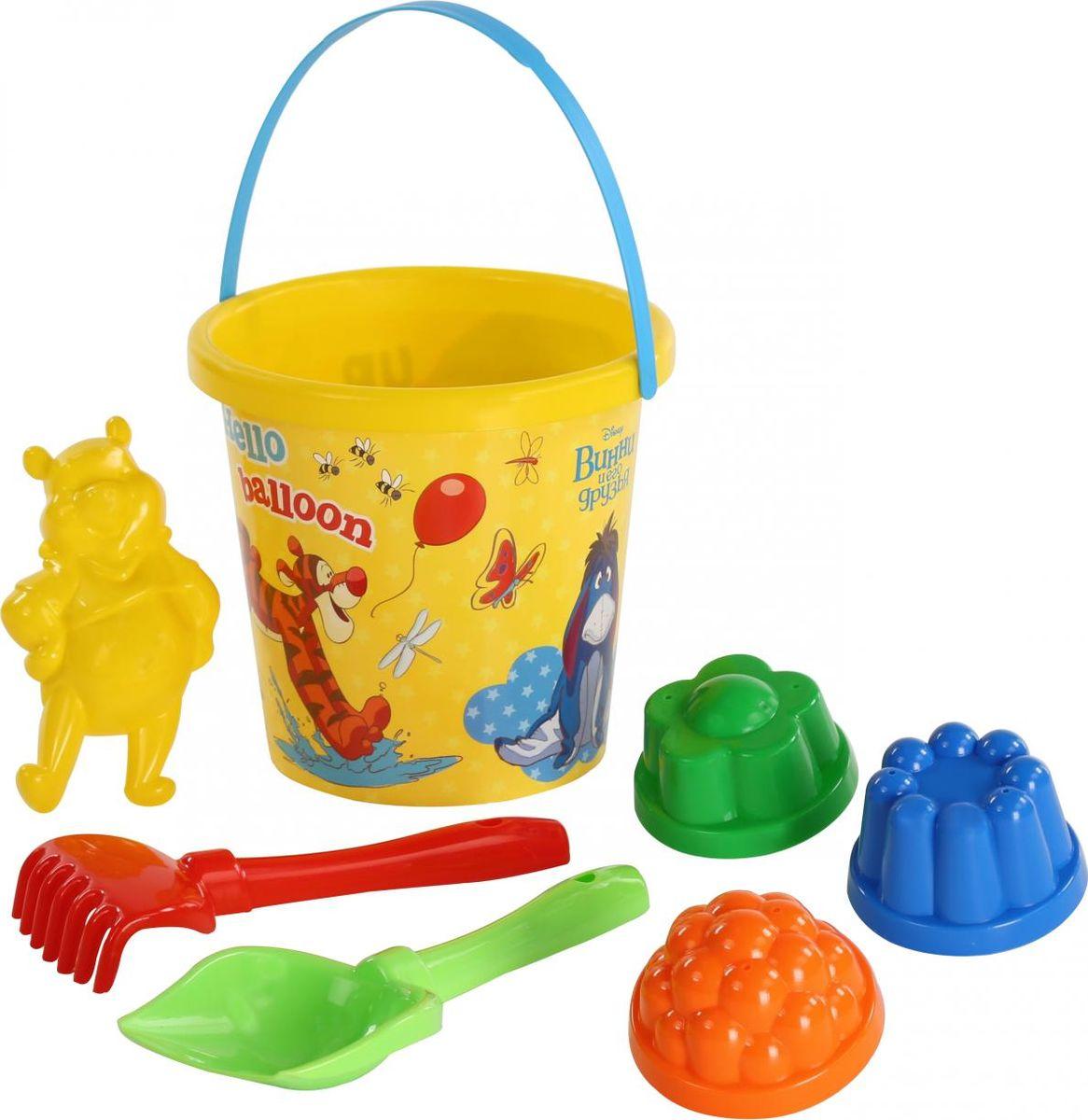 Disney Набор игрушек для песочницы Винни и его друзья №10 ящики для игрушек disney короб для игрушек микки и его друзья