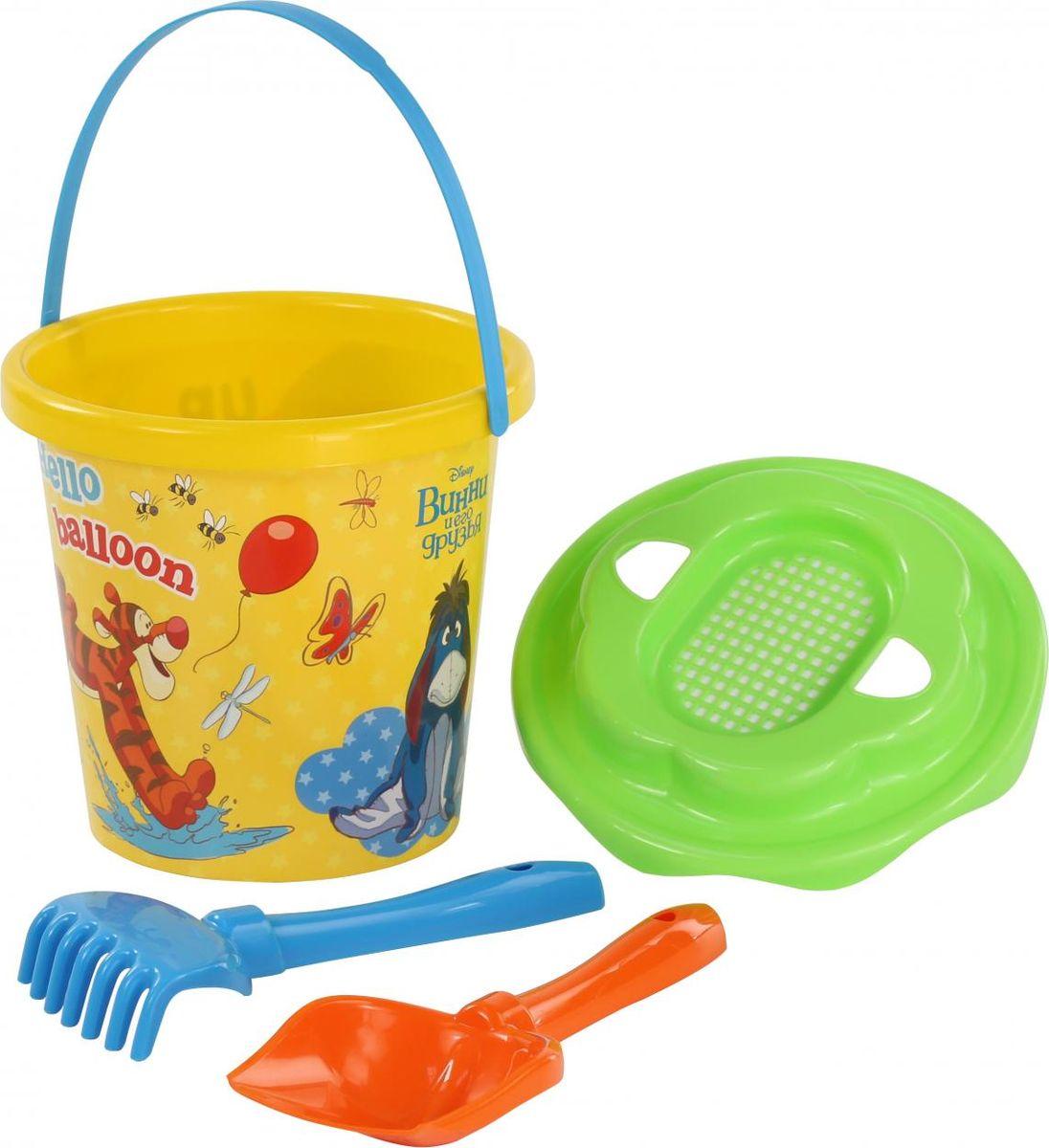 Disney Набор игрушек для песочницы Винни и его друзья №11 ящики для игрушек disney короб для игрушек микки и его друзья