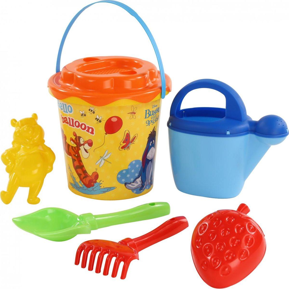 Disney Набор игрушек для песочницы Винни и его друзья №12 мягкие игрушки disney винни 25 см