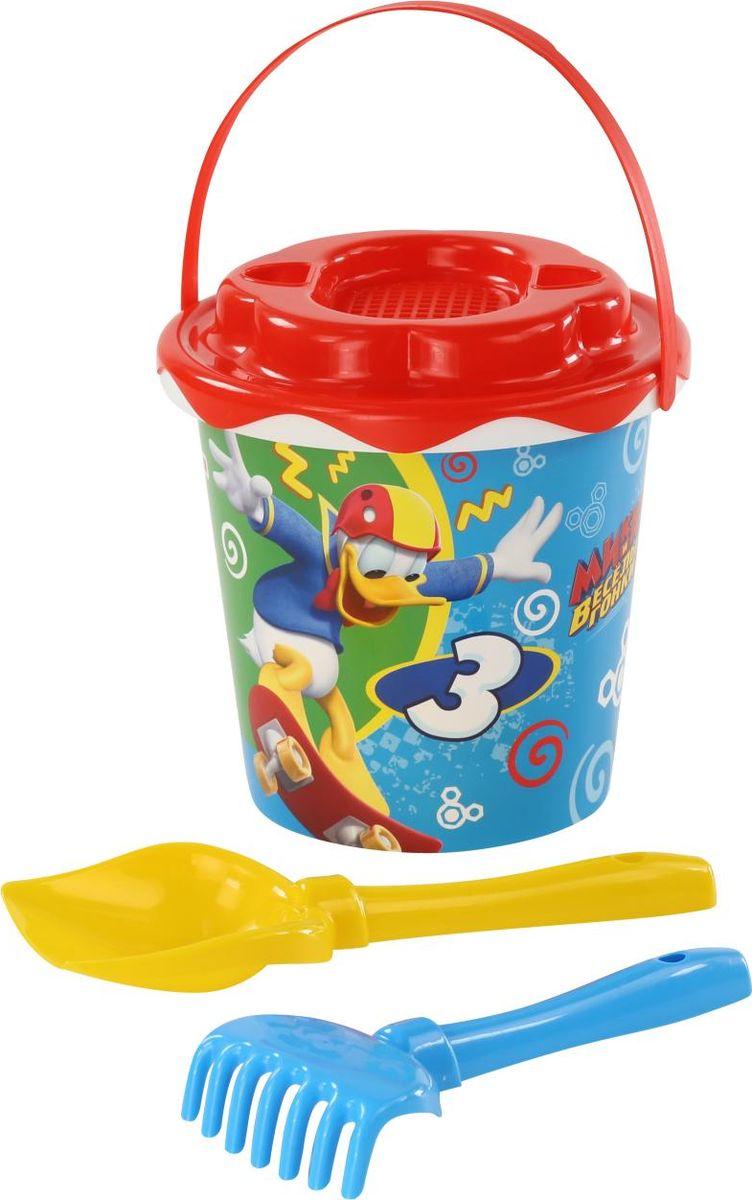 Disney Набор игрушек для песочницы Микки и Веселые гонки №11