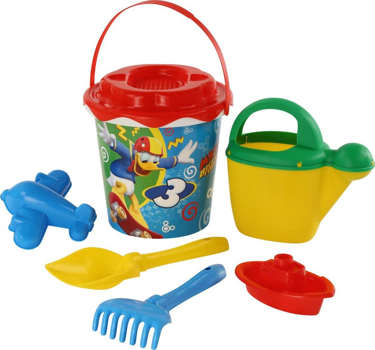 Disney Набор игрушек для песочницы Микки и Веселые гонки №12 ящики для игрушек disney короб для игрушек микки и его друзья