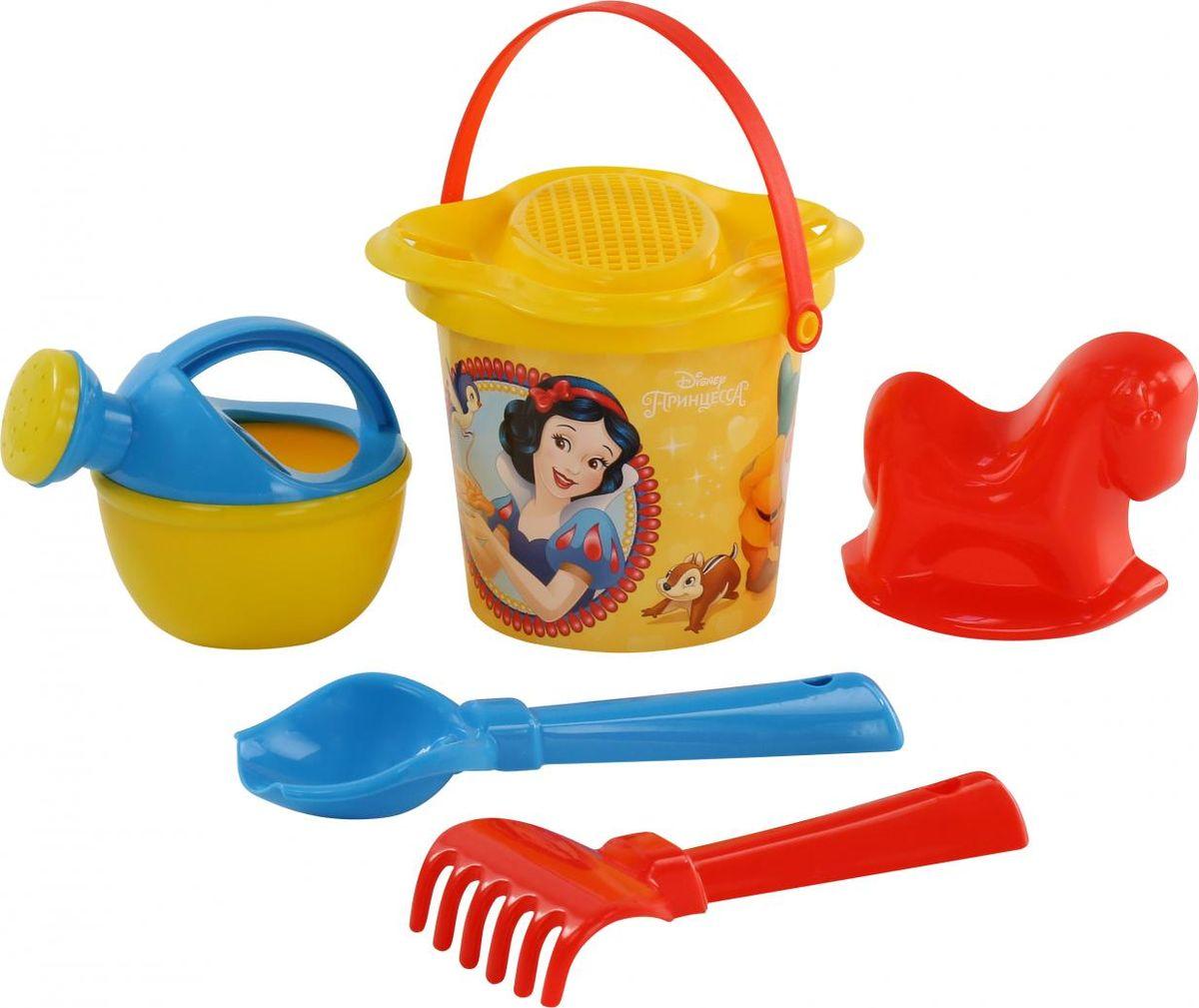 Disney Набор игрушек для песочницы Принцесса №4 disney набор игрушек для песочницы принцесса 13 5 предметов